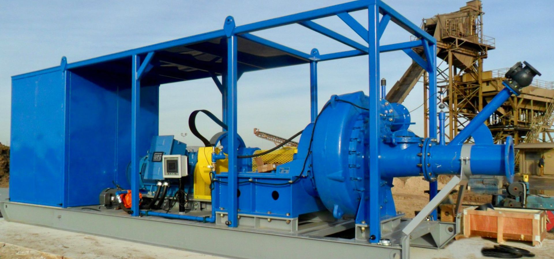 Booster Pumps | Custom Dredge Manufacturer | Custom Dredge Works